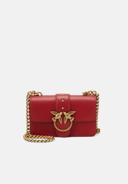 Pinko - LOVE MINI ICON SIMPLY - Umhängetasche - ruby red
