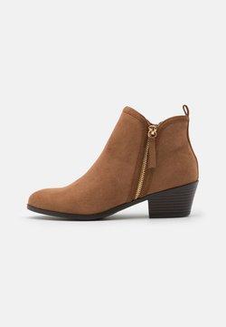 New Look - BELLA SIDE ZIP  - Ankle boot - tan