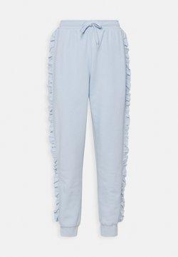 ONLY - ONLAVA FRILL  - Jogginghose - cashmere blue