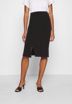 Selected Femme - SLFTENNY - Spódnica ołówkowa  - black