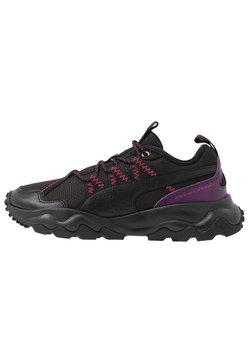 Puma - EMBER TRL - Zapatillas de trail running - black/purple/nrgy rose