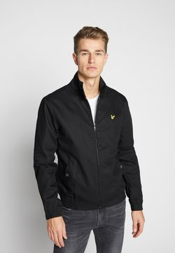 Lyle & Scott - HARRINGTON JACKET - Giubbotto Bomber - jet black