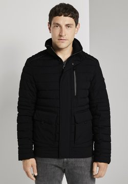 TOM TAILOR - GESTEPPTE - Winterjacke - black