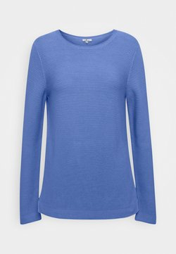 TOM TAILOR - NEW OTTOMAN - Pullover - soft charming blue