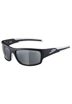 Alpina - TESTIDO - Sportbrille - black matt-white