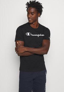 Champion - LEGACY CREWNECK - Printtipaita - black