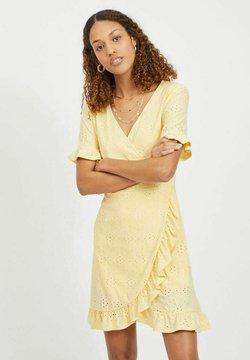 Vila - Korte jurk - sunlight
