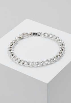 Icon Brand - CHUNKY CHAIN BRACELET - Rannekoru - antique silver-colouored