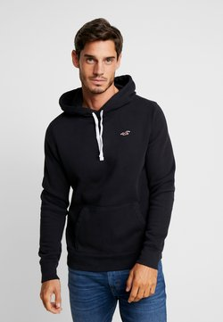 Hollister Co. - CORE ICON - Kapuzenpullover - black