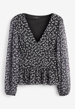 Next - Bluse - mottled black