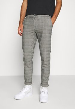 Redefined Rebel - KING PANTS - Stoffhose - grey mustard