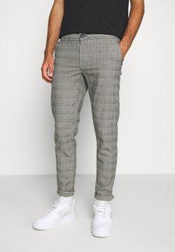 Redefined Rebel - KING PANTS - Spodnie materiałowe - grey mustard