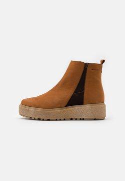 WONDERS - Ankle Boot - cognac