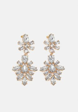 Pieces - PCZANNY EARRINGS - Orecchini - gold-coloured/clear