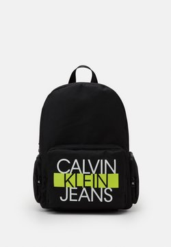 Calvin Klein Jeans - BACK TO SCHOOL BACKPACK SET - Ryggsäck - black
