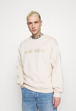 adidas Originals - CREW UNISEX - Sweatshirt - halo ivory
