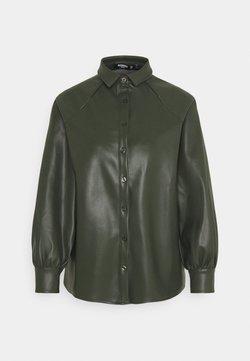 Missguided Petite - RAGLAN SLEEVE - Camisa - khaki