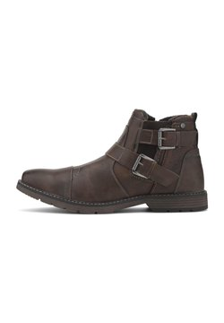 TOM TAILOR - Stiefel - cognac