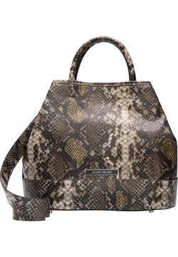JOOP! Jeans - DOMENICA SNAKE - Shopping bag - nature