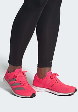 adidas Performance - ADIZERO ADIOS 5 SHOES - Zapatillas de running neutras - pink