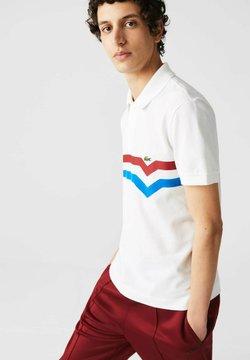 Lacoste - SHORT SLEEVE - Poloshirt - blanc/rouge/bleu