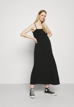 ONLY - OLMEMMA SMOCK DRESS - Vestito lungo - black