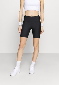 Under Armour - BIKE SHORT - Tights - black
