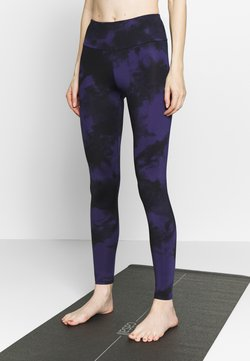Hey Honey - LEGGINGS TIE DYE  - Medias - dark blue