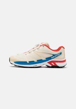 Salomon - SHOES XT-WINGS 2 ADV UNISEX - Sneaker low - vanilla/racing red/imperial blue