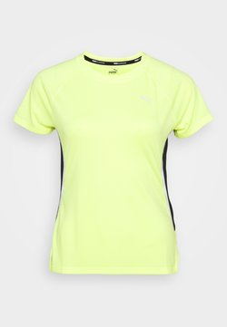Puma - LITE LASER CAT TEE - Camiseta estampada - fizzy yellow