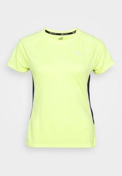 Puma - LITE LASER CAT TEE - T-Shirt print - fizzy yellow