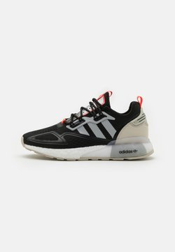 adidas Originals - ZX 2K BOOST UNISEX - Sneakers basse - core black/clear onix/clear brown
