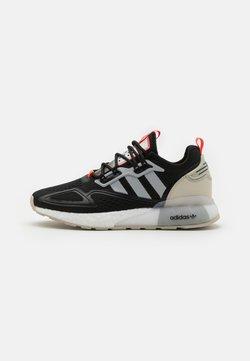 adidas Originals - ZX 2K BOOST UNISEX - Sneaker low - core black/clear onix/clear brown