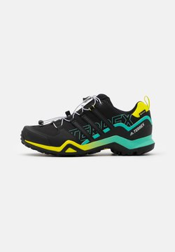 adidas Performance - TERREX SWIFT R2 GTX - Hikingschuh - core black/acid mint
