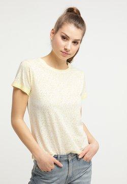 Petrol Industries - T-Shirt print - mellow yellow