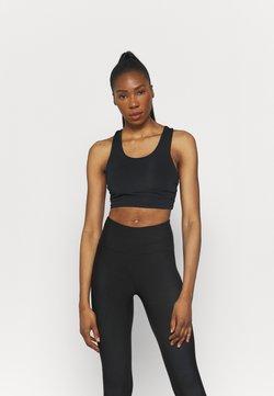 Cotton On Body - LIFESTYLE LOOP CROSS BACK VESTLETTE - Sport BH - black