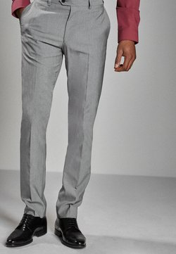 Next - STRETCH TONIC SUIT: TROUSERS-SLIM FIT - Anzughose - light grey