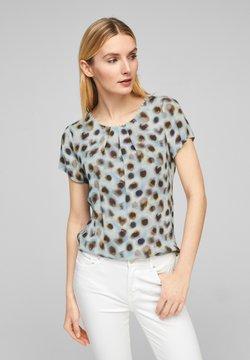 s.Oliver BLACK LABEL - Bluse - soft white aquarell dots