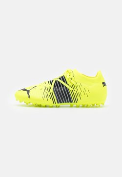 Puma - FUTURE Z 2.1 MG - Moulded stud football boots - yellow alert/black/white