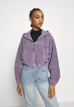 BDG Urban Outfitters - HOODED JACKET - Bombejakke - lilac
