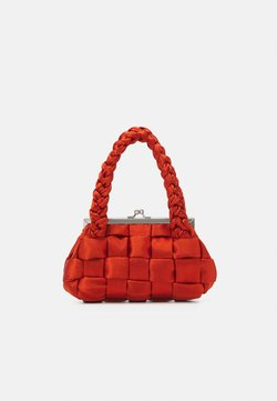 Topshop - WEAVE GRAB - Handbag - orange