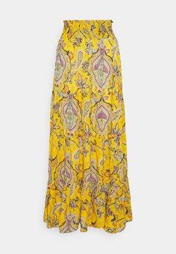 Desigual - Falda larga - yellow