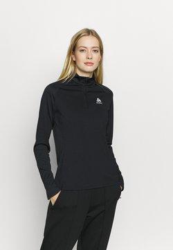 ODLO - MIDLAYER CERAMIWARM ELEMENT - Funktionsshirt - black
