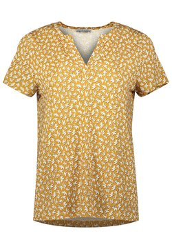 Re.draft - T-shirt con stampa - print gold