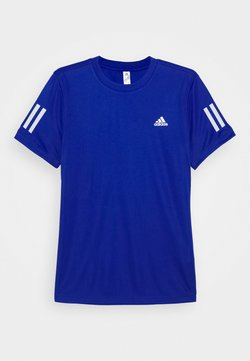 adidas Performance - CLUB TEE - T-shirt med print - royblue/white