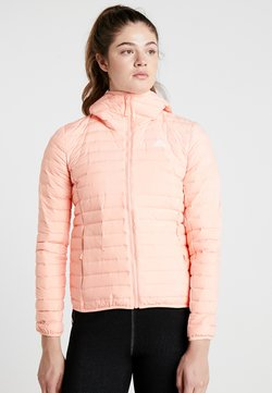 adidas Performance - VARILITY SOFT HOODED OUTDOOR DOWN JACKET - Veste d'hiver - glow pink