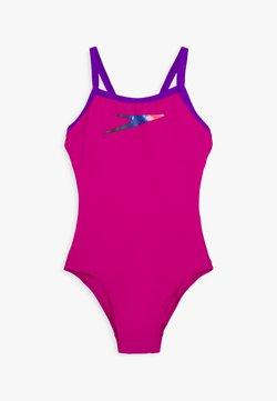 Speedo - BOOM PLACEMENT THINSTRAP MUSCLEBACK - Costume da bagno - diva/violet