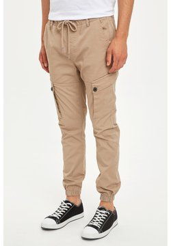 DeFacto - Cargo trousers - beige