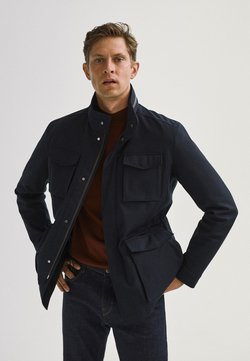 Massimo Dutti - MIT VIER TASCHEN  - Overgangsjakker - blue-black denim