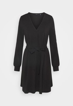 Vero Moda - VMCALI SHORT DRESS  - Korte jurk - black